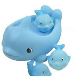 24 Units of BATH PALS - BLUE WHALE FAMILY. - Bath And Body