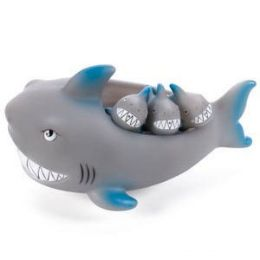 24 Units of BATH PALS - SHARK FAMILY. - Bath And Body