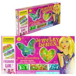 48 Units of Butterfly Beading Kits. - Craft Beads
