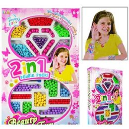 24 Units of Pretty Girl Jewelry Beading Kits. - Craft Beads