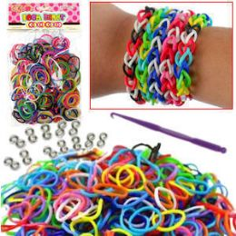 192 Units of 300 PIECE D.I.Y LOOM BANDS - Craft Kits