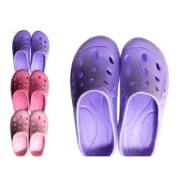 48 Units of Womans Garden Shoes Assorted Colors And Sizes