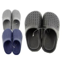 72 Units of Boys Garden Shoes Assorted Colors And Sizes - Girls Slippers