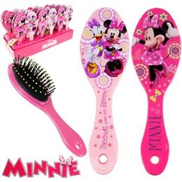 48 Units of Disney's Minnie's BoW-Tique Hair Brushes. - Hair Brushes & Combs