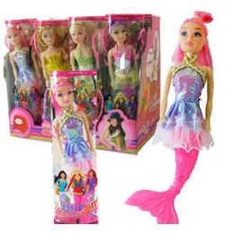 240 Units of MERMAID DOLL IN CARRYING CASE - Dolls