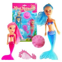 48 Units of MERMAID DOLL SET - Dolls