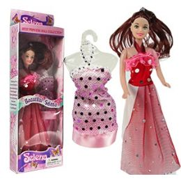 57 Units of BEAUTIFUL SELENA FASHION DOLLS - Dolls