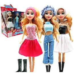 36 Units of TRENDY AMELIA DOLLS - Dolls