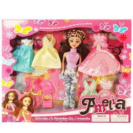 16 Units of THE AMELIA SHOPPING COLLECTION. - Dolls