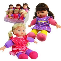 12 Units of SOFT TODDLER DOLLS - Dolls