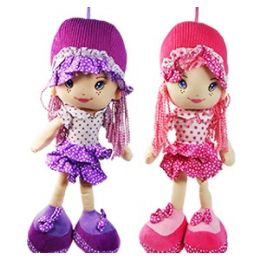 24 Units of SOFT RUFFLES DOLLS - Dolls