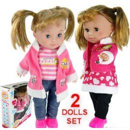 8 Units of 2 PIECE ANDREA & FRIENDS DOLLS. - Dolls