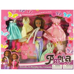 16 Units of ETHNIC AMELIA WARDROBE COLLECTION - Dolls
