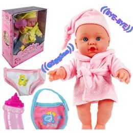 12 Units of TALKING GROWN GIRL BATH BABY DOLLS - Dolls