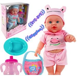 12 Units of TALKING GROWN GIRL PJ BABY DOLLS - Dolls