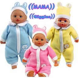 24 Units of TALKING DOLLS IN PJ'S - Dolls