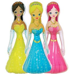 48 Units of INFLATABLE PRINCESSES - Dolls