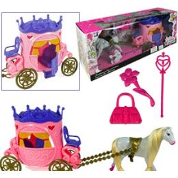 12 Units of DOLL COACH PLAY SETS - Dolls