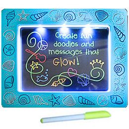 16 Units of 2-IN-1 LITE UP DOODLE BOARD & FRAME - Educational Toys