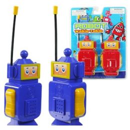 24 Units of Robot Walkie Talkie Sets - Action Figures & Robots