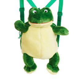 "24 Units of PLUSH FROG BACKPACKS - Backpacks 16"""