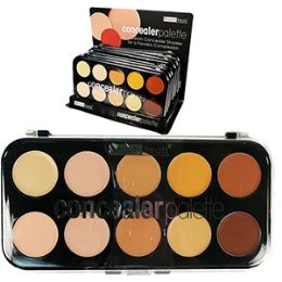 36 Units of 10 Color Concealer Palettes - Cosmetics
