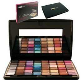48 Units of 48 Color Eye Shadow Palettes W/ Mirror. - Eye Shadow & Mascara