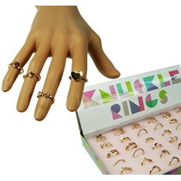 432 Units of Rose Gold Tone Knuckle Rings - Rings