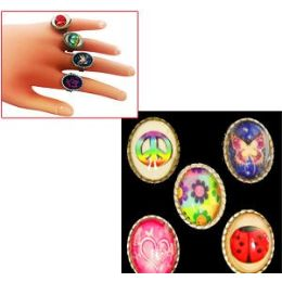 576 Units of Triplet Picture Rings - Rings