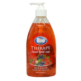 20 Units of BIO Liquid Hand Soap Red Fruits 14oz - Soap & Body Wash