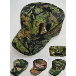 24 Units of Cadet Hat Assorted Camo - Cowboy & Boonie Hat