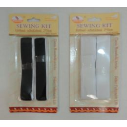 24 Units of 2pk Velcro [black Or White - Hardware Products