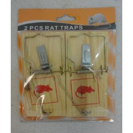 24 Units of 2pk Wooden Rat Traps - Pest Control