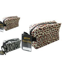 72 Units of Makeup Bag W/handle - Cosmetic Cases