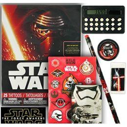 12 Units of Star Wars Calculator Sets - School Supply Kits