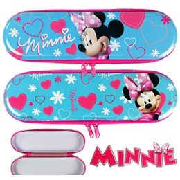 48 Units of DISNEY'S MINNIE'S BOW-TIQUE METAL PENCIL BOXES. - Pencil Boxes & Pouches