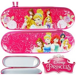 48 Units of DISNEY'S PRINCESS METAL PENCIL BOXES - Pencil Boxes & Pouches