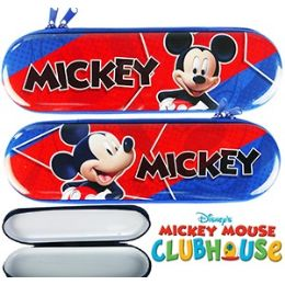 48 Units of DISNEY'S MICKEY MOUSE METAL PENCIL BOXES - Pencil Boxes & Pouches