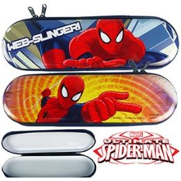 48 Units of SPIDERMAN METAL PENCIL BOXES - Pencil Boxes & Pouches