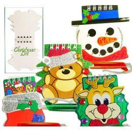 120 Units of CHRISTMAS NOTEPADS W/PEN. - Christmas Novelties