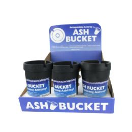 72 Units of Extinguishing Ashtray Ash Bucket Counter Top Display - Ashtrays
