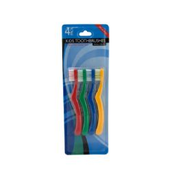 72 Units of Kids Toothbrush Set - Toothbrushes and Toothpaste