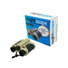 12 Units of Night Scope Binoculars - Camping Gear
