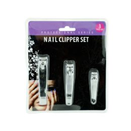 36 Units of Nail Clipper Set - Manicure and Pedicure Items