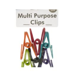72 Units of Vinyl Coated MultI-Purpose Clips - Clips and Fasteners