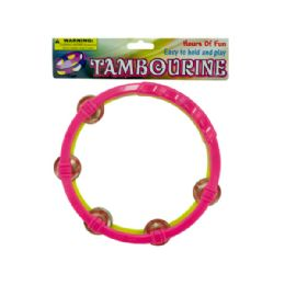 72 Units of Toy Tambourine - Musical
