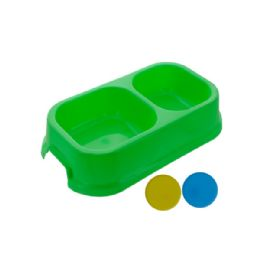 72 Units of Double Dog Dish - Pet Accessories