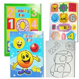 48 Units of COLORING AND STICKER BOOKS - Coloring & Activity Books