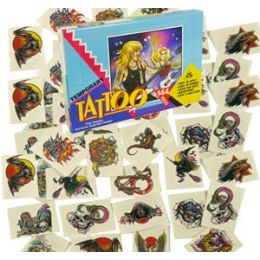4320 Units of ROCK STAR TEMPORARY TATOOS - Tattoos and Stickers