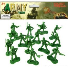 48 Units of 36 Piece Army Thunder Soldiers - Action Figures & Robots